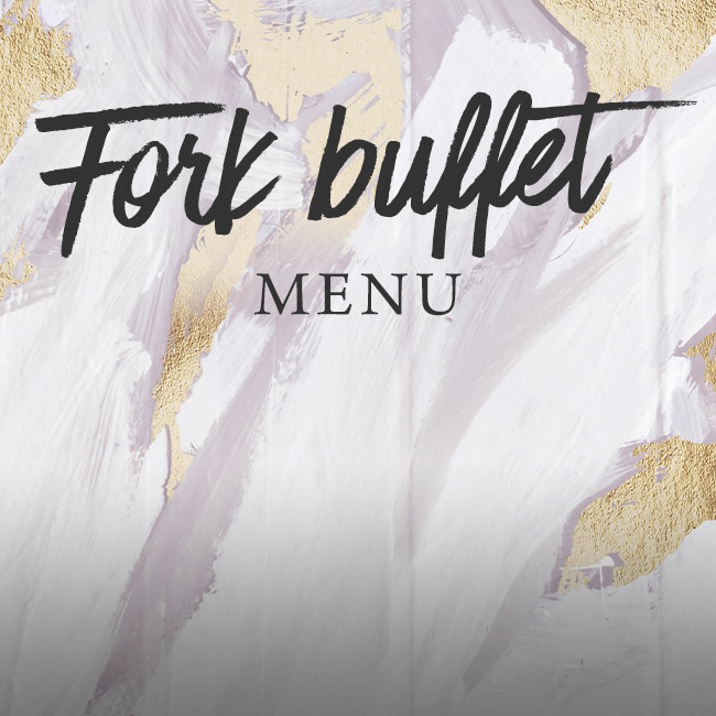 Fork buffet menu at The Hand & Sceptre