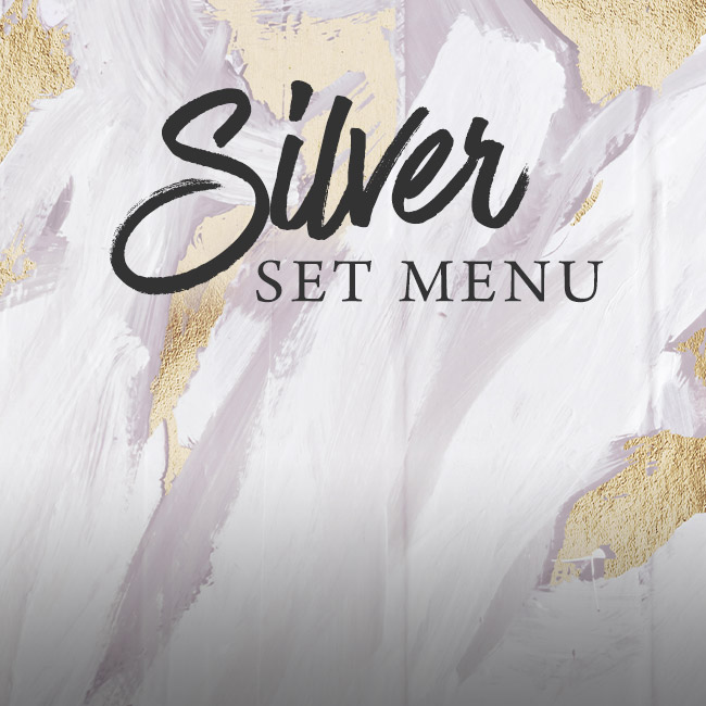 Silver set menu at The Hand & Sceptre