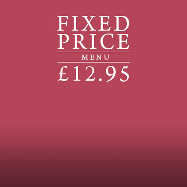 Fixed Price Menu at The Hand & Sceptre